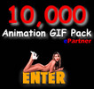 Thumbnail 10,000 Animated GIF Animations Website, Banner, eMail Design